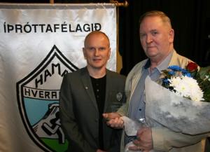 Gísli Garðars heiðurs og Hjalti
